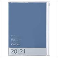 2021 Diary A5 Colors // Blue