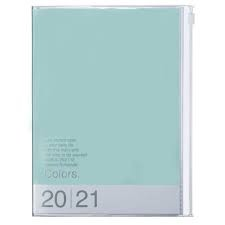 2021 Diary A5 Colors // Mint