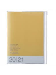 2021 Diary A5 Colors // Yellow