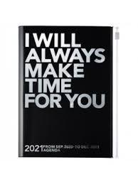 2021 Diary A5 Make time // Silver