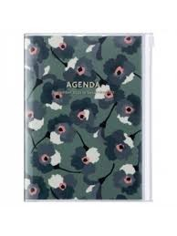 2021 Diary A5 Flower // Green