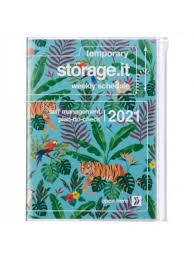 2021 Diary A5 Jungle // Turquoise