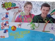 I DO 3D - Deluxe Design Studio 2x Green - 2x Red yellow  -  blue orange  -  purple