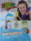 I DO 3D - Color Changing Inkblue to red yellow to orange
