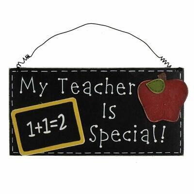 WIDDOP MDF MY TEACHER IS GIFT 62167 PLAQUE
