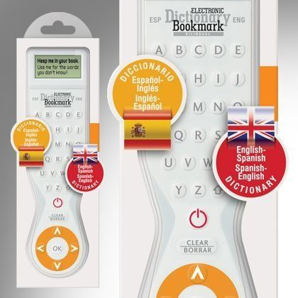 Electronic Dictionary Bookmark Bilingual Spanish-English