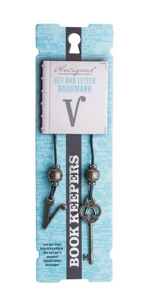 Letter V Book Keeper