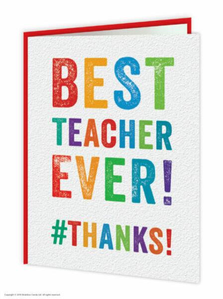 T017 Best Teacher Ever