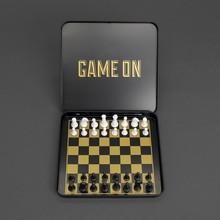 Game on Mini Chess Set