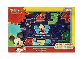 LIFT-OUT PUZZLE MICKEY