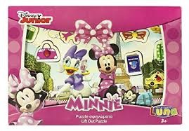LIFT-OUT PUZZLE MINNIE