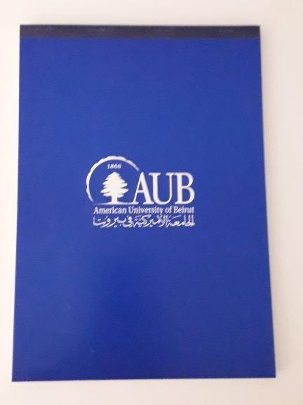 AUB Notebook | A5 | Blue