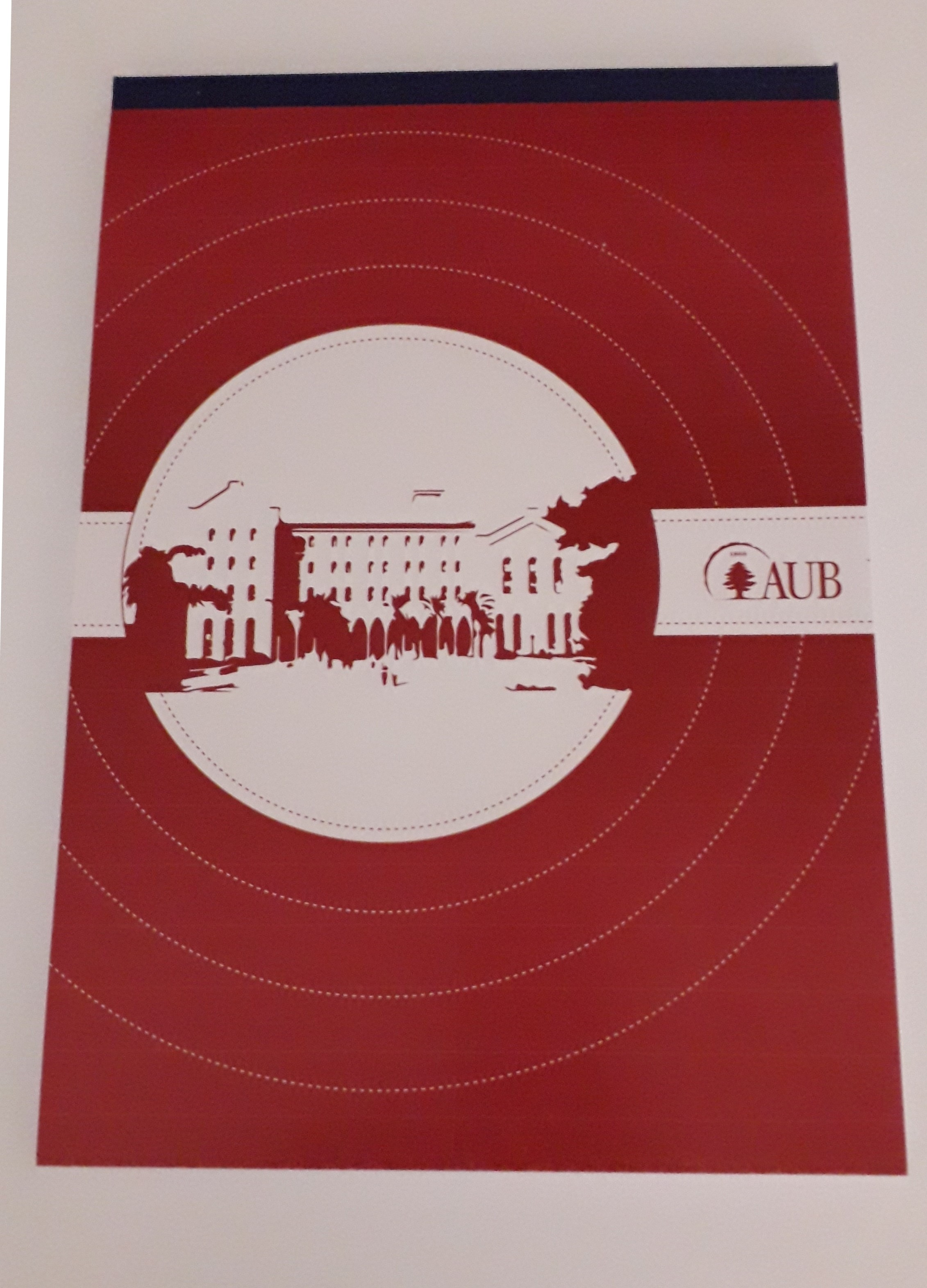 AUB Notebook   A4   Red