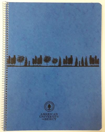 AUB spiral book 48 sheets 21x27.5 cm 80g