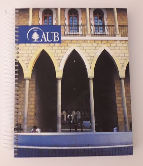 AUB 3 SUBJECTS SQUARE SPIRAL 80G 144SH