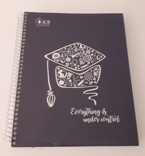 AUB COPYBOOK GRADUATE | 4 SUBJECTS | SPIRAL SQUARE | 160SH