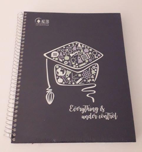 AUB COPYBOOK GRADUATE | 4 SUBJECTS | SPIRAL LINE | 160SH