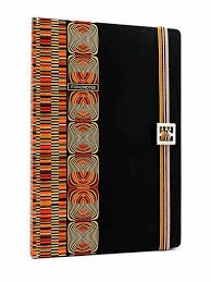 KUBA NOTEBOOK HARD COVER WITH ELASTIC BAND ROUNDED CORNERS 96 SH 80GRS