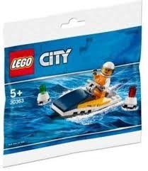 30363 Brick Based Lego City-Race Boat