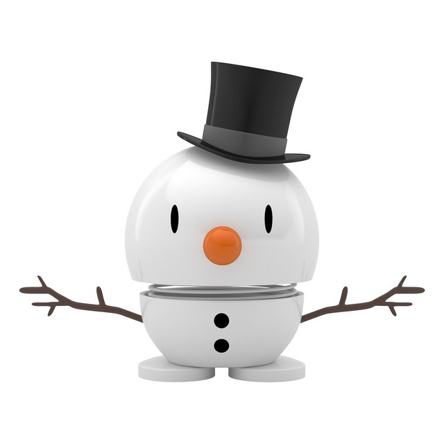 Hoptimist White. Baby Snowman (small)