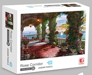 Rose Corridor Jigsaw Puzzle 1000 pcs