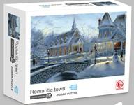 Romantic Town Jigsaw Puzzle 1000 pcs