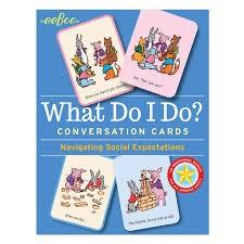 WHAT DO I DO CONVERSATION CARDS
