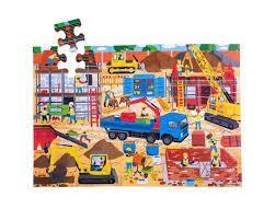CONSTRUCTION SITE FLOOR PUZZLE (48 PIECE)