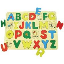 Inset Puzzle ABC - UPPERCASE