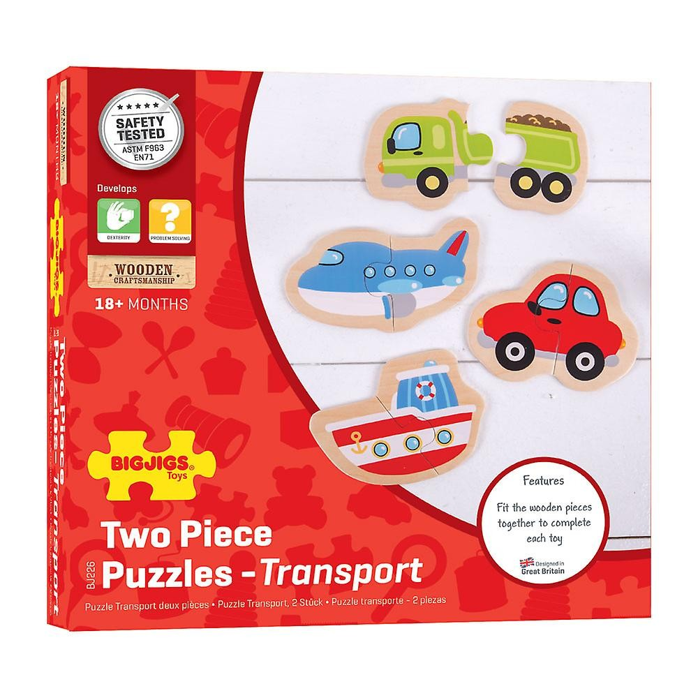 Two Piece Puzzles - Transport