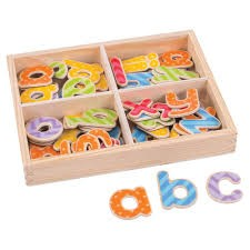 Magnetic Letters - Lowercase