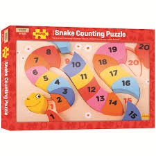 Counting Snake Puzzle