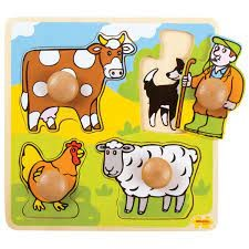 My First Peg Puzzle - Farm