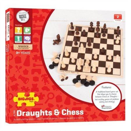 Draughts & Chess Set
