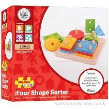 Four Shape Sorter