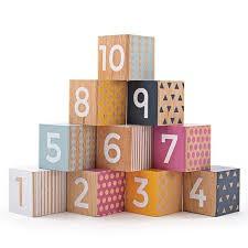 Wooden Number Blocks - FSC 100%