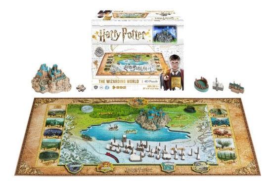 Puzzle The Wizarding World - 892 Pcs - Harry Potter - 4D Citysca