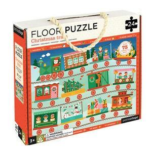 Floor Puzzle Christmas Train