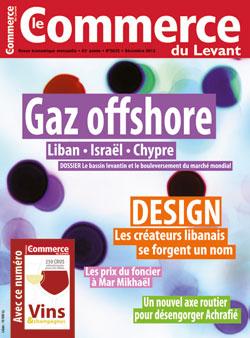 Le Commerce du Levant No. 5635 décembre 2012