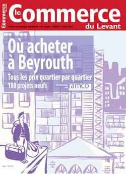 Le Commerce du Levant No. 5631 août 2012