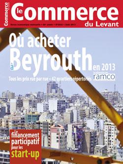 Le Commerce du Levant No. 5643 août 2013