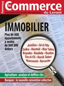 Le Commerce du Levant No. 5644 septembre 2013