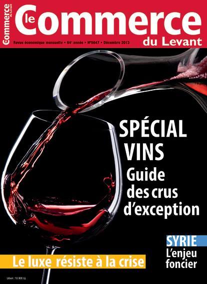 Le Commerce du Levant No. 5647 décembre 2013