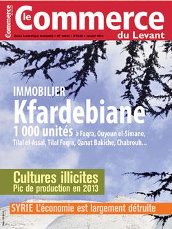 Le Commerce du Levant No.5648 janvier 2014