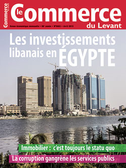 Le Commerce du Levant No. 5663 avril 2015