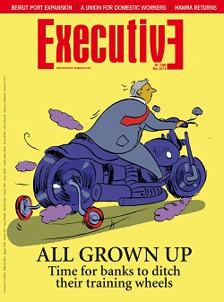 Issue 190 - ALL GROWN UP: Time fo banks to ditch their training wheels