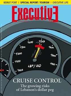 Issue 192 - CRUISE CONTROL: The growing risks of lebanon's dollar peg