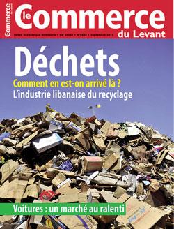 Le Commerce du Levant No. 5668 septembre 2015