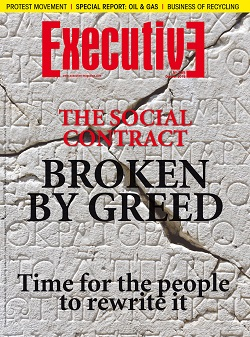 Issue 195 - THE SOCIAL CONTRACT BROKEN BY GREED: Time for the people to rewrite it