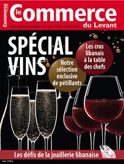 Le Commerce du Levant No. 5671 décembre 2015 – SPECIAL VINS